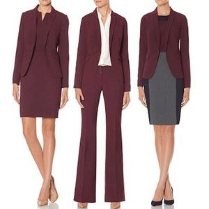 The Limited Collection | Lexie Fit Maroon Blazer 4